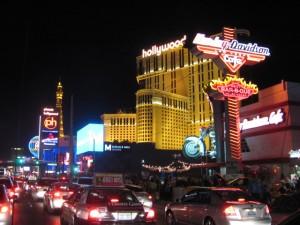 Arriving Las Vegas