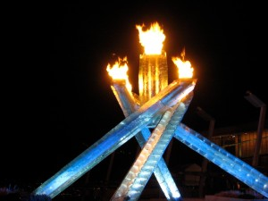 2010 Olympic Flame