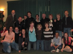 "Cast & Crew of ""The Memory of Water"""