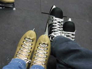 Before skating