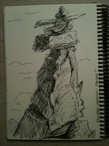Free Standing Stone Sculpture