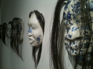 Ceramic, Hair masks - S,igeika,awu (Ghost Series)