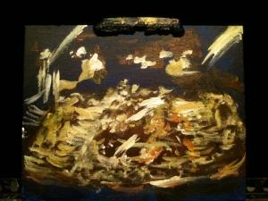 Bruce Horak painting