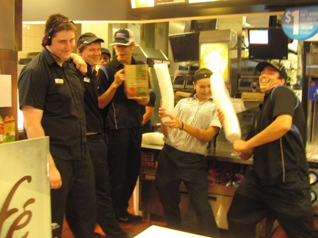 Those crazy MacDonalds kids in Revelstoke!