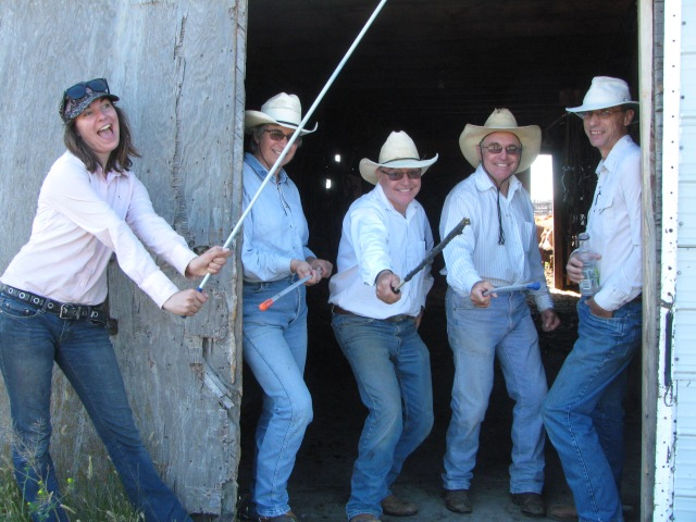Real cowboys (and girls) can have fun!