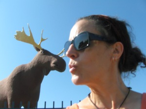 A silly moment yesterday in Moose Jaw..