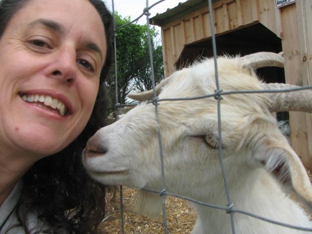 Some goat lovin'!