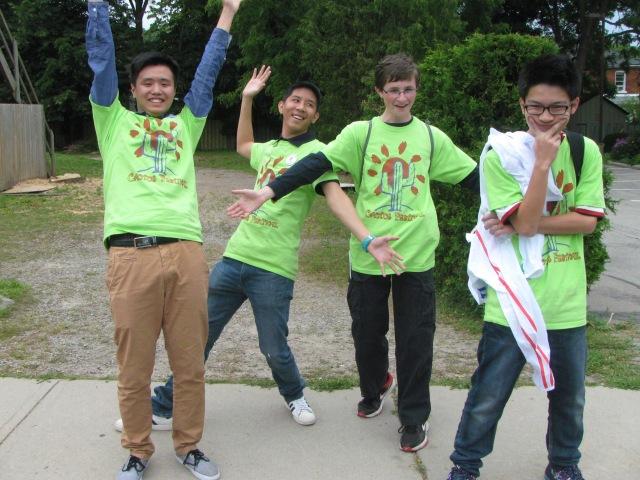 Cactus Festival volunteers!