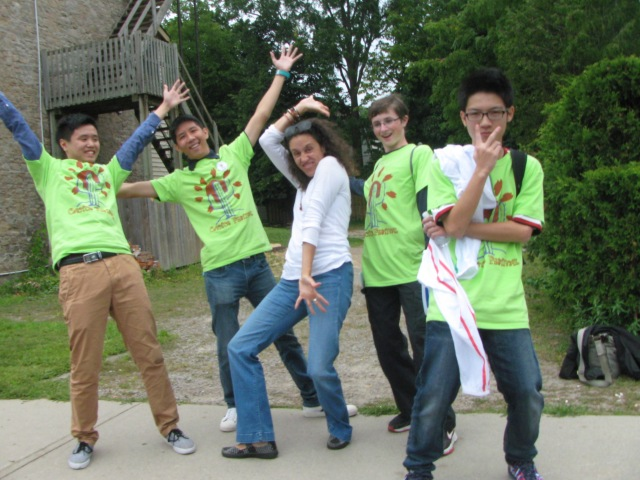 Boisterous volunteers for the Dundas Cactus Festival!