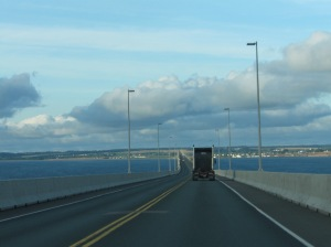 On the Confederation Bridge!